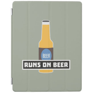 Runs on Beer Z7ta2 iPad Cover