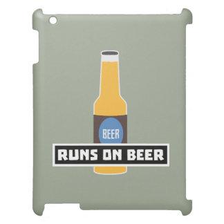 Runs on Beer Z7ta2 iPad Covers