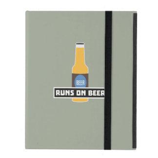 Runs on Beer Z7ta2 iPad Folio Case