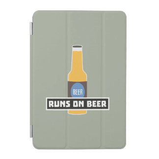 Runs on Beer Z7ta2 iPad Mini Cover