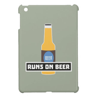 Runs on Beer Z7ta2 iPad Mini Covers