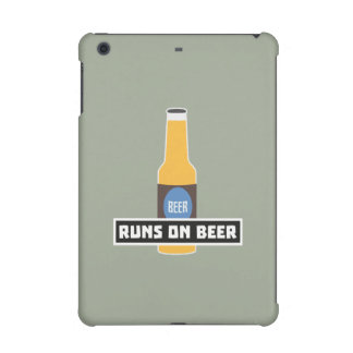 Runs on Beer Z7ta2 iPad Mini Retina Cover