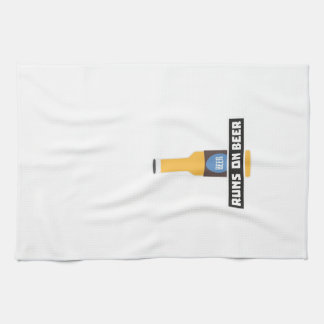Runs on Beer Z7ta2 Kitchen Towel