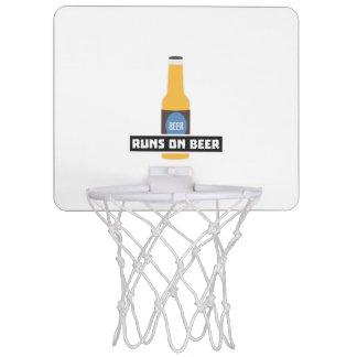 Runs on Beer Z7ta2 Mini Basketball Hoop