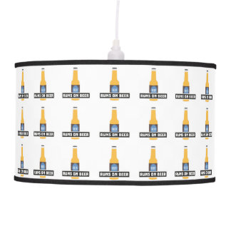 Runs on Beer Z7ta2 Pendant Lamp