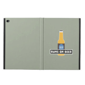 Runs on Beer Z7ta2 Powis iPad Air 2 Case