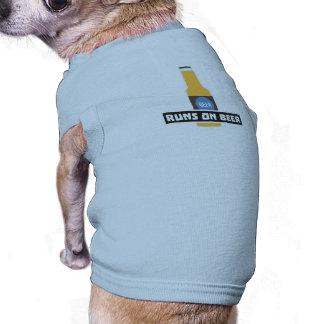 Runs on Beer Z7ta2 Shirt