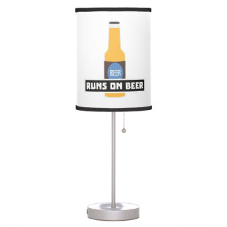 Runs on Beer Z7ta2 Table Lamp