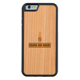 Runs on Beer Zmk10 Carved Cherry iPhone 6 Bumper Case