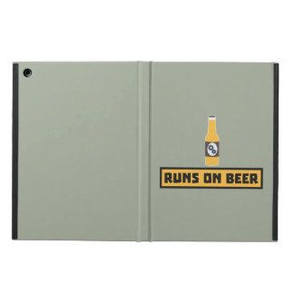 Runs on Beer Zmk10 Case For iPad Air