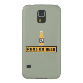 Runs on Beer Zmk10 Galaxy S5 Cover