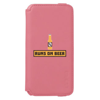 Runs on Beer Zmk10 Incipio Watson™ iPhone 6 Wallet Case