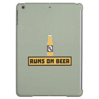 Runs on Beer Zmk10 iPad Air Case