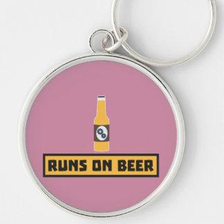 Runs on Beer Zmk10 Keychain