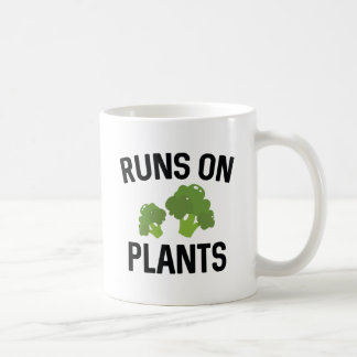 Runs On Plants Coffee Mug