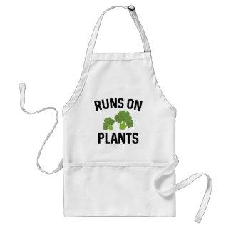 Runs On Plants Standard Apron