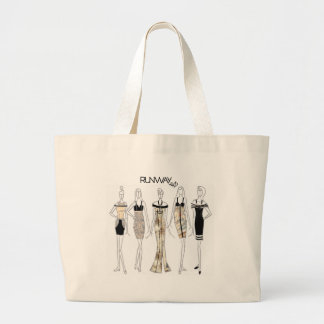 "RUNWAY 2.0; DESIGNER SERIES-""DAVID BRINSON"" LARGE TOTE BAG"