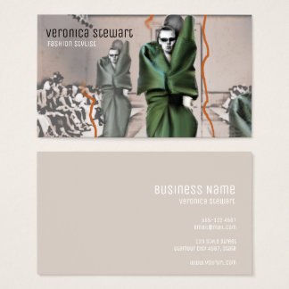 Runway Fashion Show Business Business Card