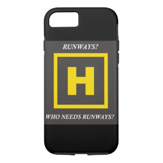 Runways? Helicopter iPhone 7 case