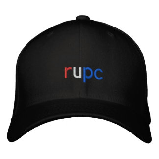 rupc embroidered hats