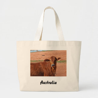 Rural Australia large tote bag