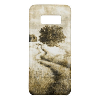Rural autumn farm oak tree western country road Case-Mate samsung galaxy s8 case