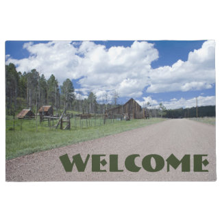 Rural Barn Scene Photograph Doormat