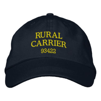 RURAL CARRIER Hat Embroidered Baseball Cap