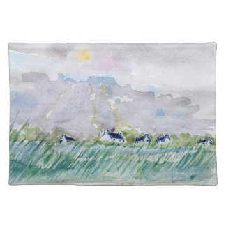 Rural Finistere   Concarneau, Brittany Placemat