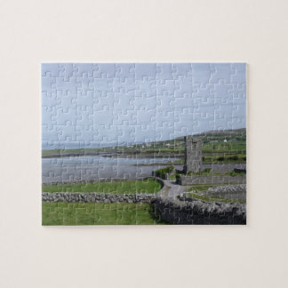 Rural Ireland Photo Puzzle with Tin