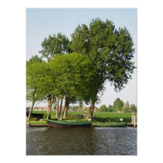 Rural Landscape in Holland Photo Poster Art