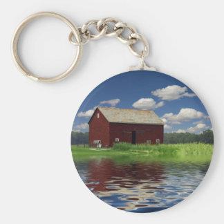 Rural Landscape Keychain