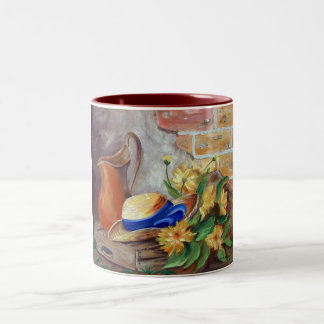 Rural life Two-Tone coffee mug