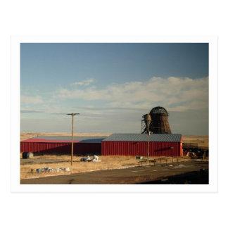 Rural Montana Art Postcard