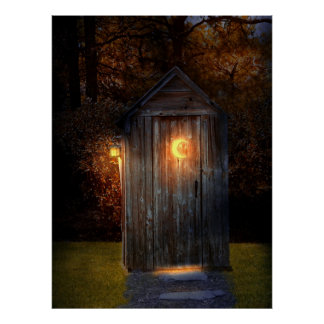 Rural - Outhouse - Do the necessary Poster