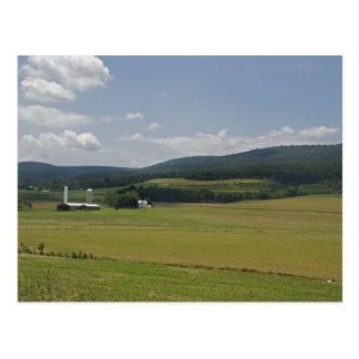 Rural Pennsylvania Farm Postcard