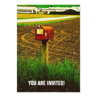 Rural Route Mailbox Card
