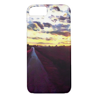 Rural Sunset iPhone 7 Case
