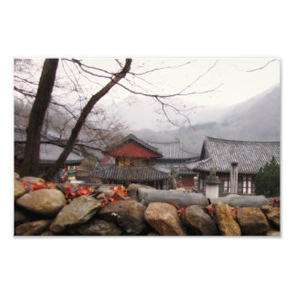 Rural temple in Korea Photograph