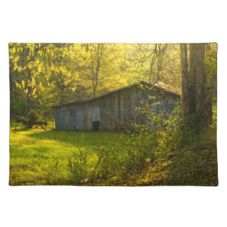 Rural Tennessee Spring Morning Light Place Mat