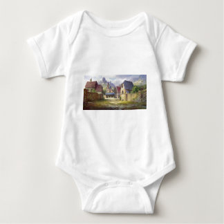 Rural Town My Birthplace Baby Bodysuit