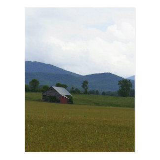 Rural Virginia Postcard