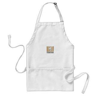 rush flush art standard apron