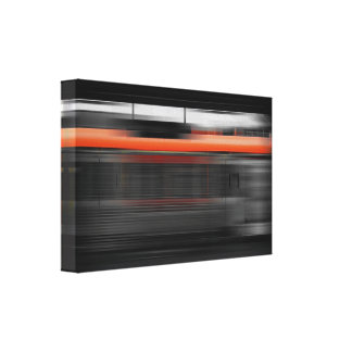 Rush hour IV Canvas Print