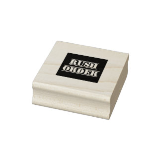 Rush Order 2 Inch Square Ink Stamp