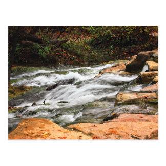 Rushing Creek in Fall Postcard