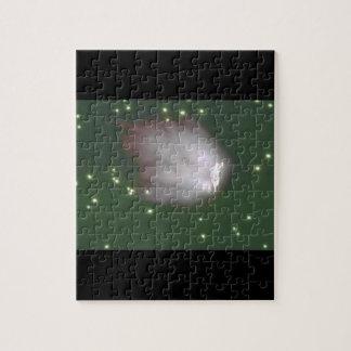 Rushing Meteorite. (meteor_Space Scenes Jigsaw Puzzle