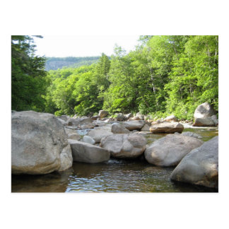 Rushing River - North Conway, NH Postcard