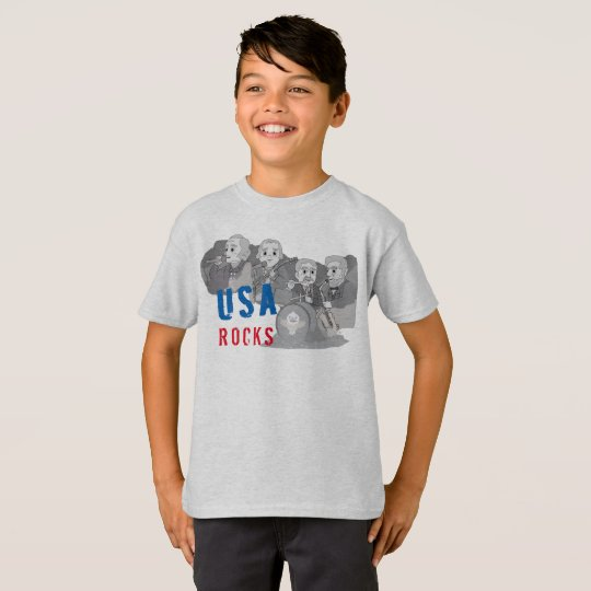 Rushmore Rock Band T-Shirt