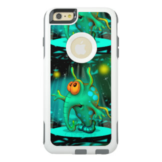 RUSS ALIEN 2 CARTOON Apple iPhone 6 Plus  CS W